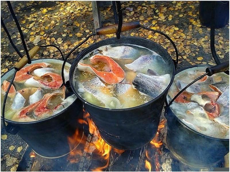 рецепт ухи от рыбаков