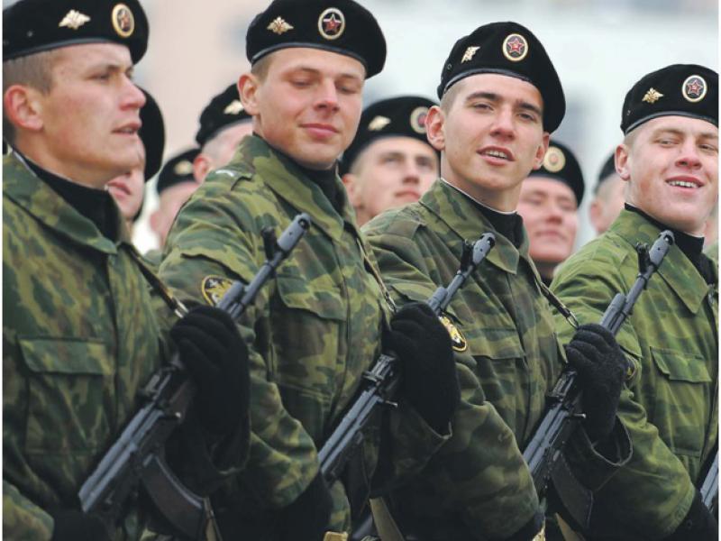 В какие войска берут срочников 2017 году впервые